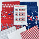 Stars and Stripes Quilt Kit - brewstitched.com