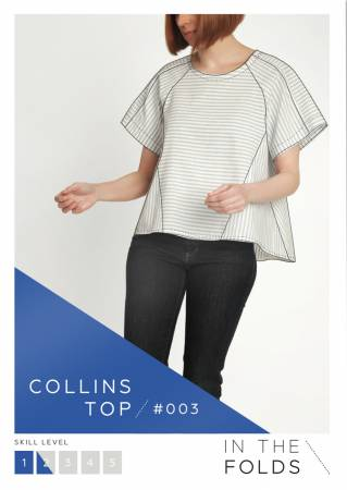Collins Top Paper Pattern from In The Folds - brewstitched.com