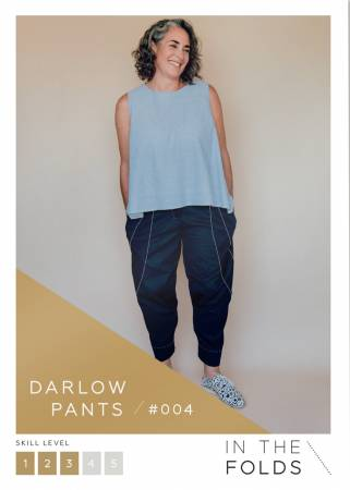 Darlow Pants Paper Pattern from In The Folds - brewstitched.com
