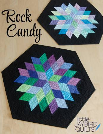 Rock Candy Table Topper Paper Pattern - brewstitched.com