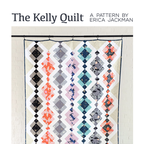 The Kelly Quilt Paper Pattern by Kitchen Table Quilting - brewstitched.com