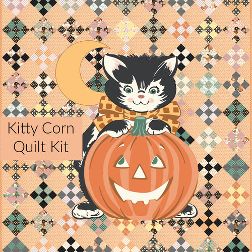 Kitty Corn Quilt Kit - Expected June 2021 - brewstitched.com