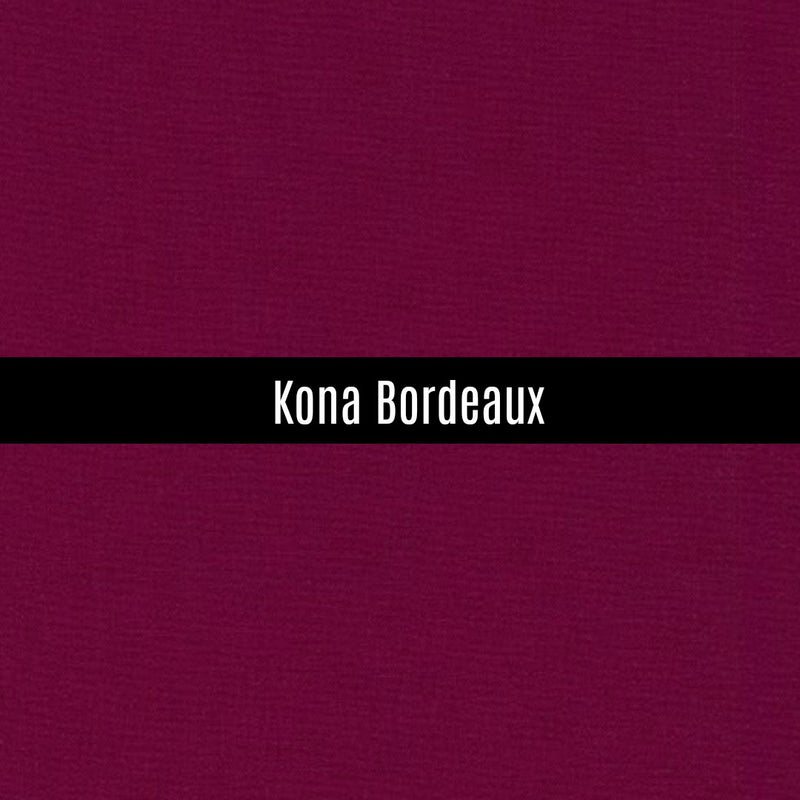 Kona Bordeaux - Priced by the Half Yard - brewstitched.com