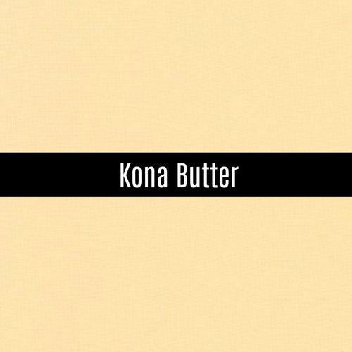 Kona Butter - Priced by the Half Yard - brewstitched.com