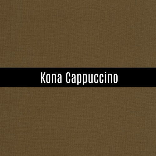 Kona Cappuccino - Priced by the Half Yard - brewstitched.com