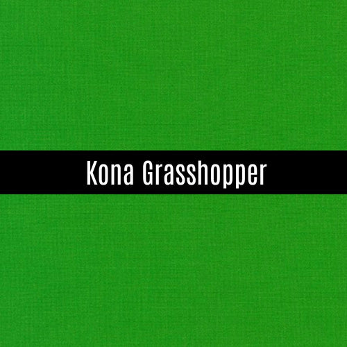 Kona Grasshopper - Priced by the Half Yard - brewstitched.com