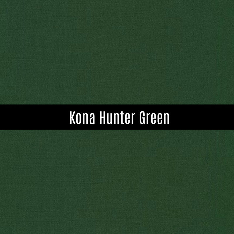 Kona Hunter Green - Priced by the Half Yard - brewstitched.com
