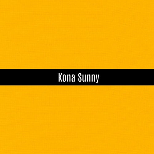 Kona Sunny - Priced by the Half Yard - brewstitched.com