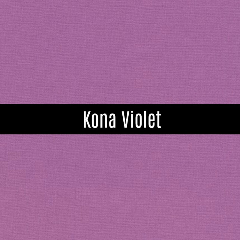 Kona Violet - Priced by the Half Yard - brewstitched.com