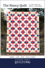 The Nancy Quilt Paper Pattern by Kitchen Table Quilting