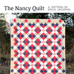 The Nancy Quilt Paper Pattern by Kitchen Table Quilting - brewstitched.com