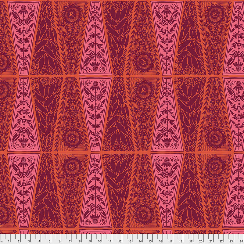 Triple Take New Dresden Lace Pumpkin - Priced by the Half Yard - brewstitched.com