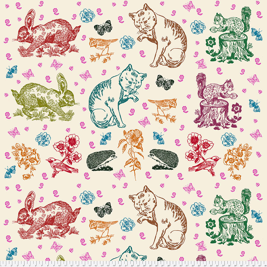 Woodland Walk Mitzi and Friends - Panel - Coming Jan 2020 - brewstitched.com