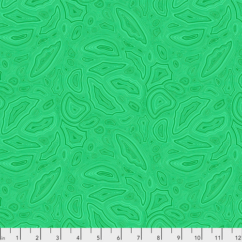 Tula's True Colors Mineral Emerald - Priced by the Half Yard - brewstitched.com