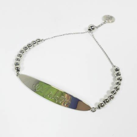 Maker Bracelet in Silver - brewstitched.com