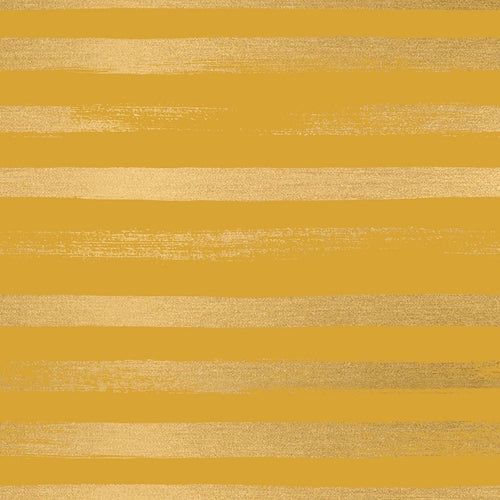 Zip Metallic Goldenrod - Priced by the Half Yard - brewstitched.com