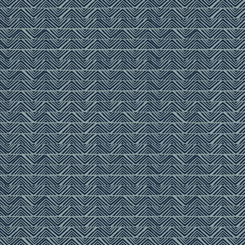 Golden Hour Mountain Blue Slate - Priced by the half yard - Coming Nov 2020 - brewstitched.com