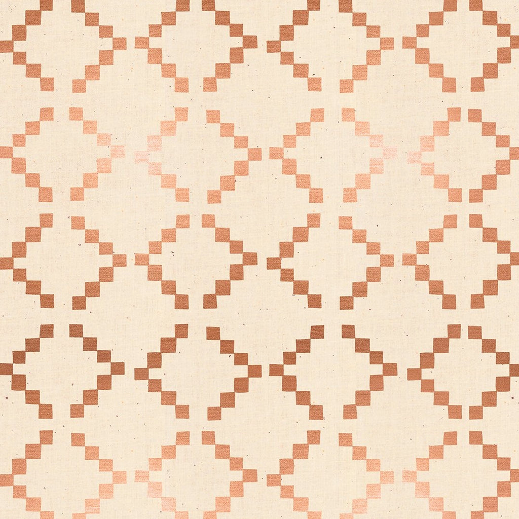 Golden Hour Tile Copper Metallic - Priced by the half yard - Coming Nov 2020 - brewstitched.com
