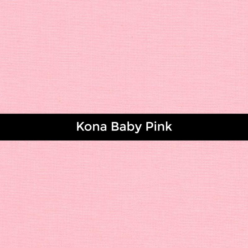 Kona Baby Pink - Priced by the Half Yard - brewstitched.com