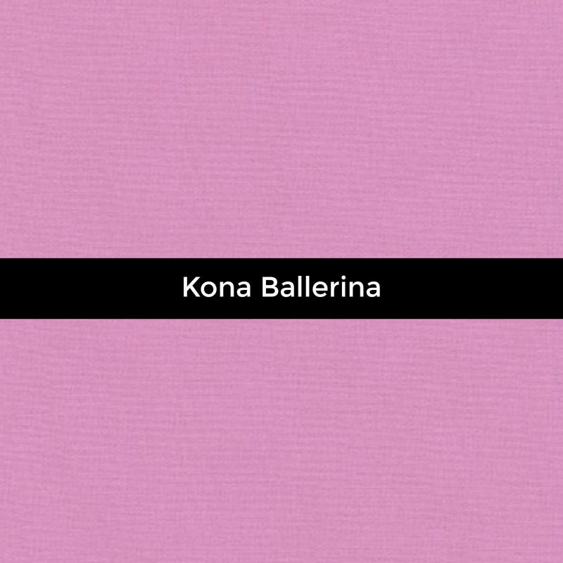 Kona Ballerina - Priced by the Half Yard - brewstitched.com