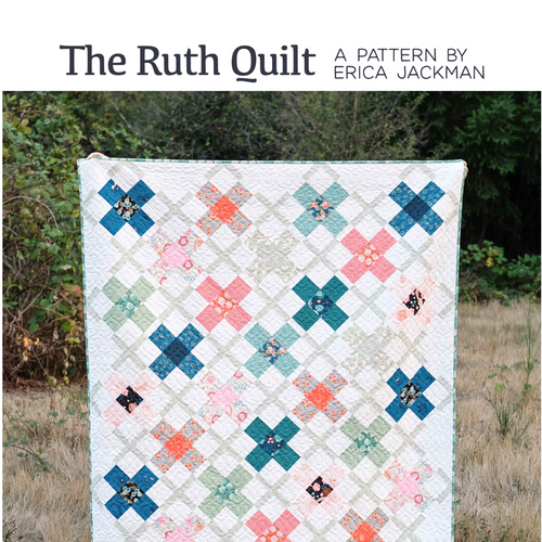 The Ruth Quilt Paper Pattern by Kitchen Table Quilting - brewstitched.com