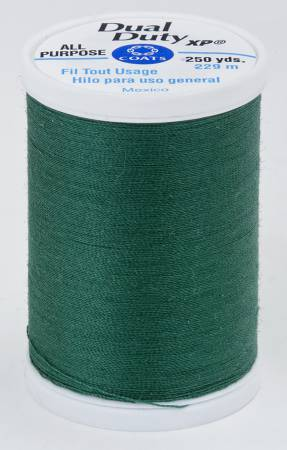 Dual Duty XP Polyester Thread 250 yards Hunter Green - brewstitched.com
