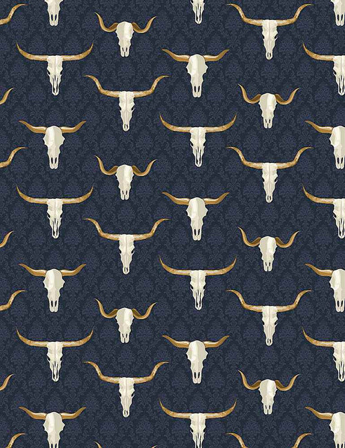 Wanted Western Skulls - Priced by the half yard - Expected Aug 2021 - brewstitched.com