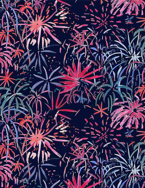 American Summer Fireworks - Priced by the Half Yard - brewstitched.com