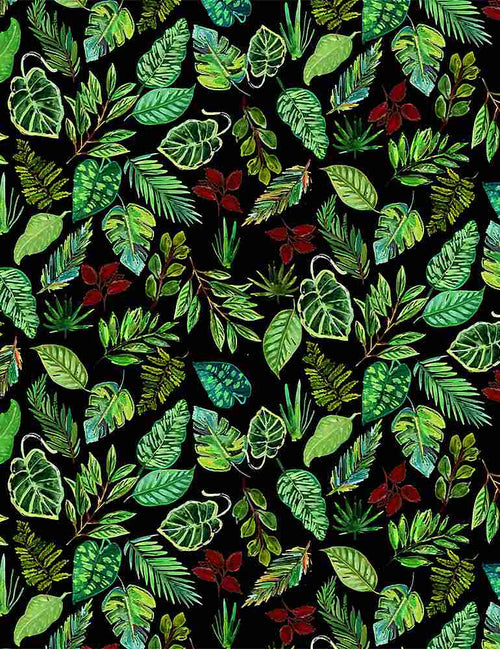 Paradise Found Leaves - Priced by the Half Yard - Expected Jan 2021 - brewstitched.com