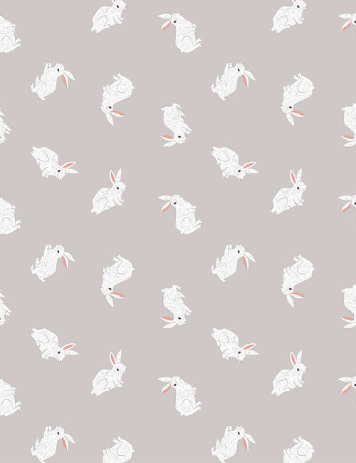 New Here Bunnies - Priced by the Half Yard - Expected Feb 2021 - brewstitched.com