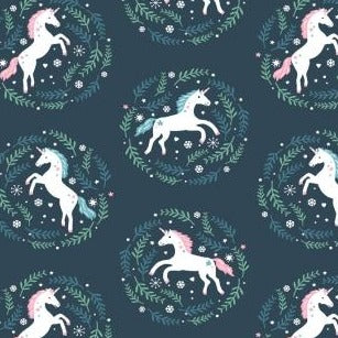 Sparkle All The Way Unicorn Cameo on Orion - Priced by the Half Yard - brewstitched.com