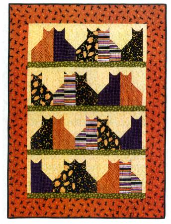 Cat City Quilt Paper Pattern - brewstitched.com