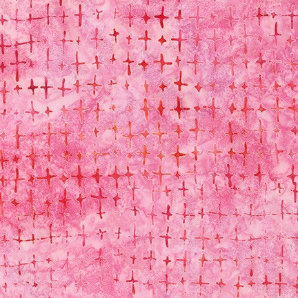 Artisan Batiks Good Vibes Bright Pink - Priced by the Half Yard - brewstitched.com