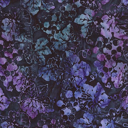 Artisan Batiks: Impressions of Tuscany 2 Grape - Priced by the Half Yard - brewstitched.com
