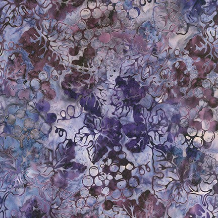 Artisan Batiks: Impressions of Tuscany 2 Purple - Priced by the Half Yard - brewstitched.com