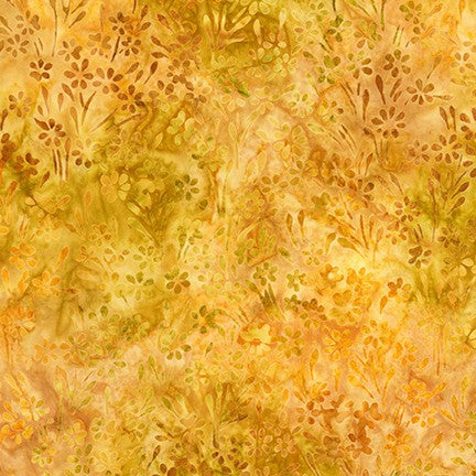 Artisan Batiks: Impressions of Tuscany 2 Harvest Gold - Priced by the Half Yard - brewstitched.com
