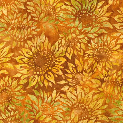 Artisan Batiks: Impressions of Tuscany 2 Harvest Orange - brewstitched.com