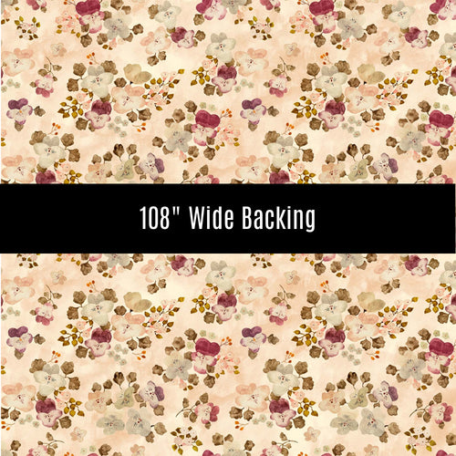 Marcel Floral Wide Back - Priced by the half yard - brewstitched.com