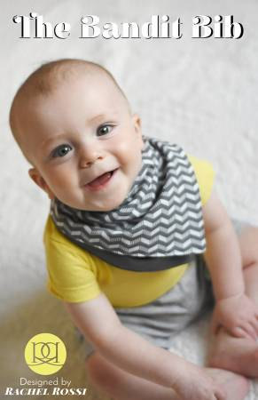Bandit Reversible Scarf or Bib Paper Pattern - brewstitched.com