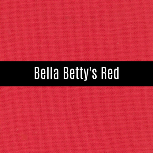 Bella Betty's Red - Priced by the Half Yard - brewstitched.com