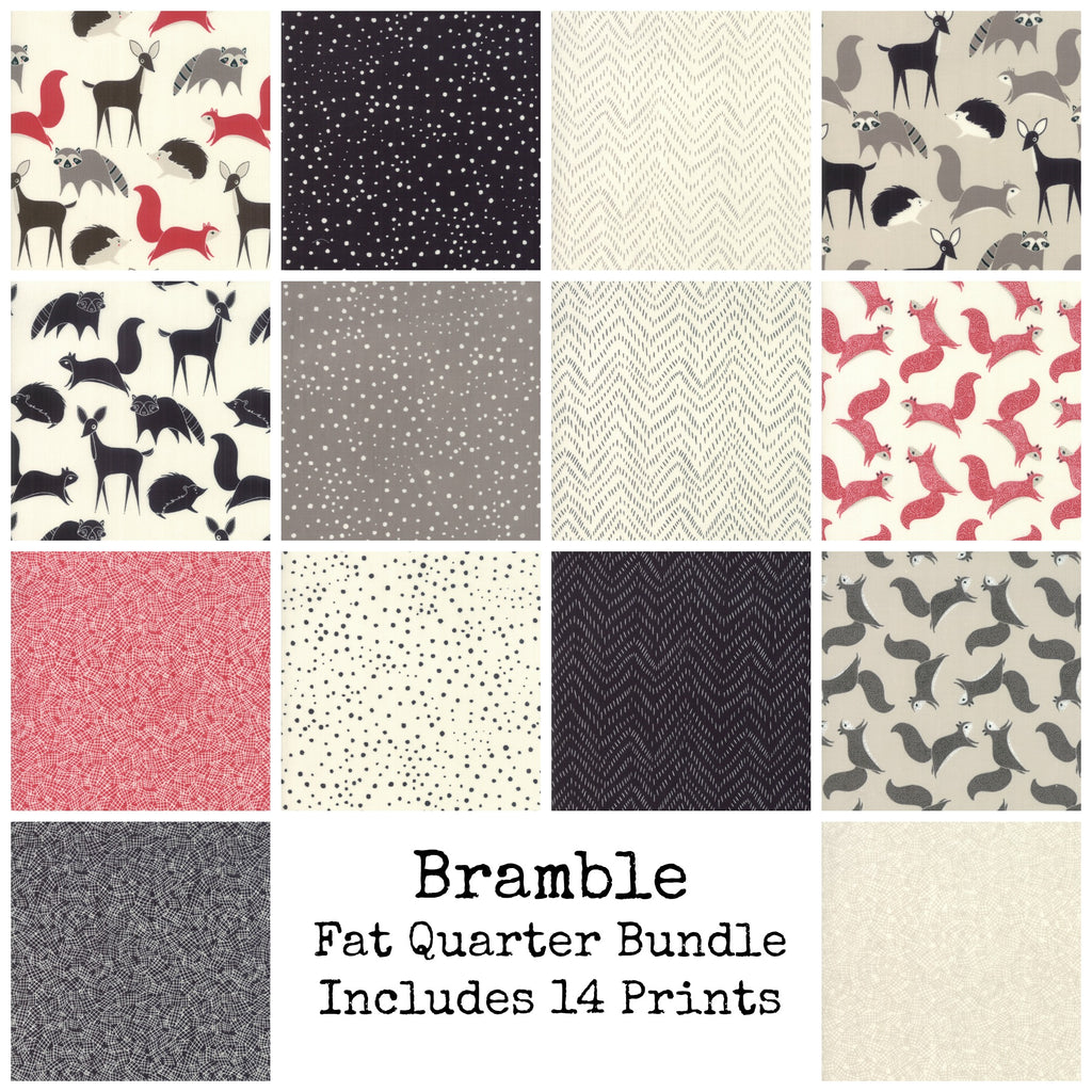 Bramble Fat Quarter Bundle - Includes 14