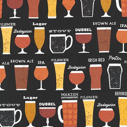 Cheers to Beers - Priced by the Half Yard - brewstitched.com