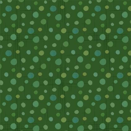 Gnome Sweet Gnome Dot Green - Priced by half yard - brewstitched.com