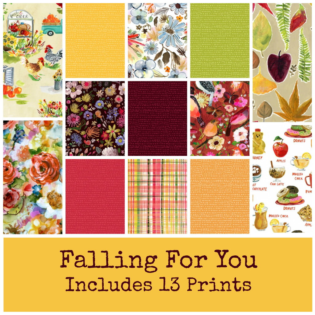 Falling For You Fat Eighth Bundle - brewstitched.com