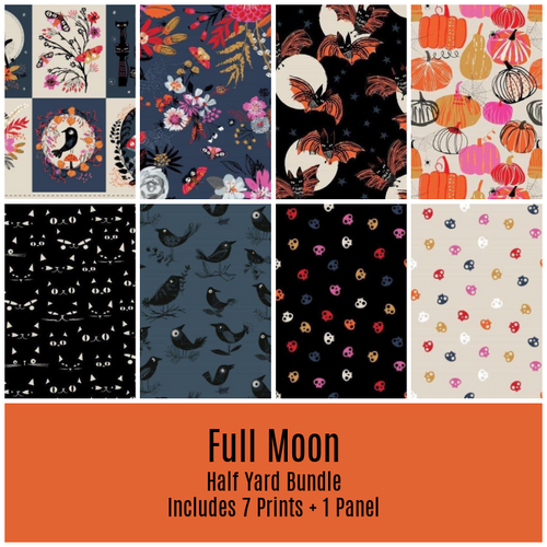 Full Moon Half Yard Bundle - Expected June 2021 - brewstitched.com