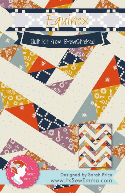 Equinox Quilt Kit featuring Golden Hour by Ruby Star Society - Coming Nov 2020 - brewstitched.com