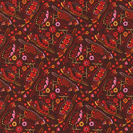 Hidden Canyon Cardinal - Priced by the Half Yard - brewstitched.com