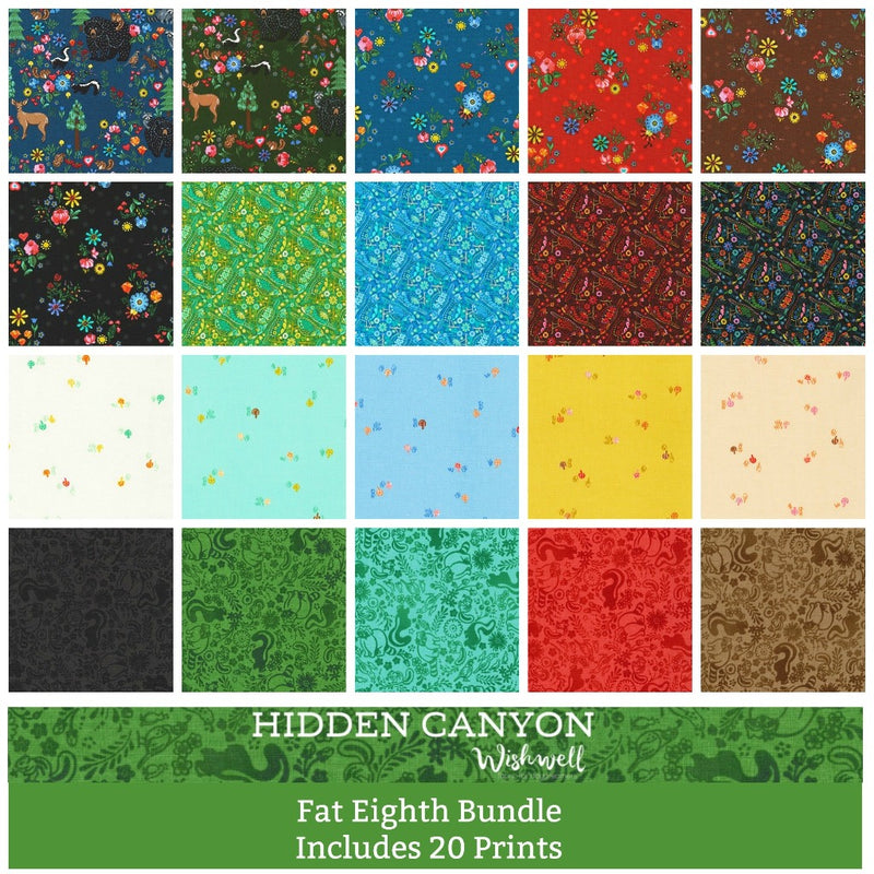 Hidden Canyon Fat Eighth Bundle - brewstitched.com