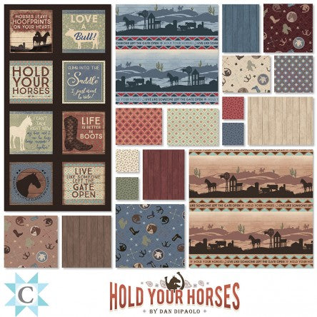 Hold Your Horses Home on the Range Quilt Kit - 2 Options - brewstitched.com