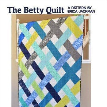 The Betty Quilt Paper Pattern from Kitchen Table Quilting - brewstitched.com
